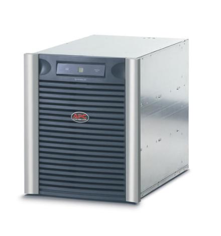Módulo de Bateria para Nobreak APC Symmetra LX com extensão de autonomia para rack com 9 módulos de baterias SYBT5, 230V