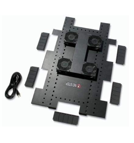 Bandeja para Ventilador de Teto 120VCA, 50/60 HZ, para Invólucros NetShelter da APC SX de 600mm de Largura x 1070 mm de Profundidade