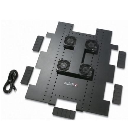 Bandeja para Ventilador de Teto 120VCA, 50/60 HZ, para Invólucros NetShelter da APC SX de 750 mm de Largura x 1070 mm de Profundidade