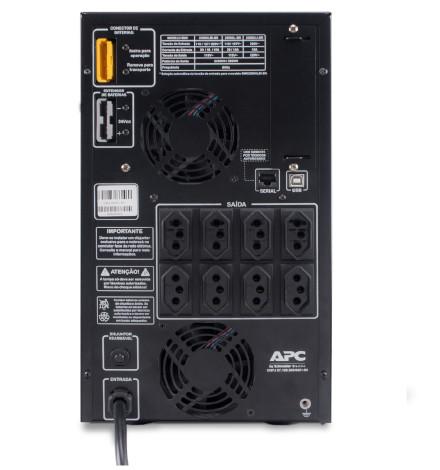 Nobreak APC Inteligente Smart-UPS BR 2200VA / 2200Watts, 115V Brasil