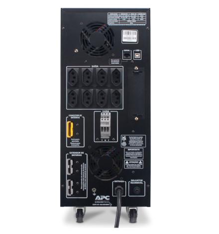 Nobreak APC Inteligente Smart-UPS BR 3000VA / 3000Watts, 220V Brasil