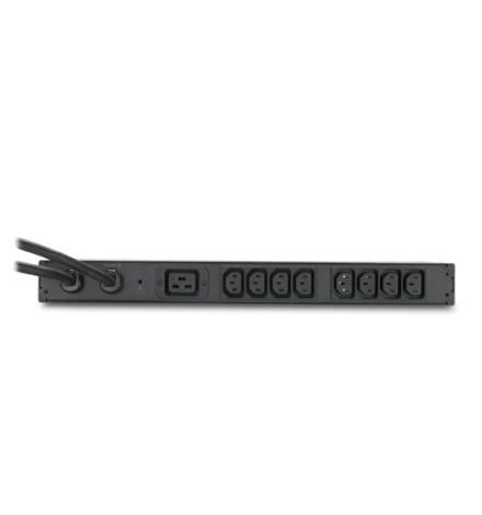 Sistema ATS para Rack da APC, 200 / 208 V, 20A, Entrada L6-20, (8) Saídas C13 (1) Saída C19
