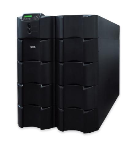 Nobreak SMS Inteligente Sinus Double II Black 20000VA / 16000Watts, Entrada 220V, Saída 110+110/220V ou 120+120/240V (selecionável)