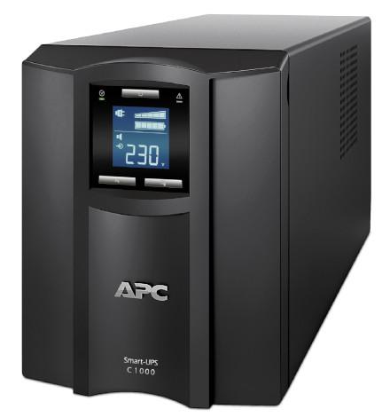 Nobreak APC Inteligente Smart-UPS C 1000VA / 600Watts, 230V, Painel LCD, Brasil