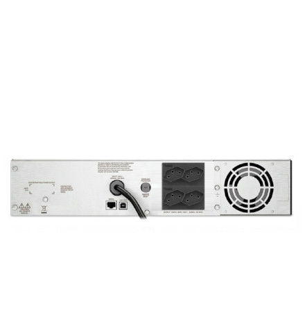 Nobreak APC Inteligente Smart-UPS C 1500VA / 900Watts, 120V, Painel LCD, Rack 2U, Brasil