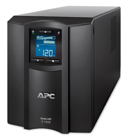 Nobreak APC Inteligente Smart-UPS C 1500VA / 900Watts, 120V, Painel LCD, Brasil