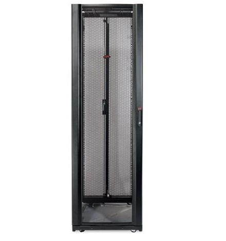 Rack APC NetShelter SX 42U, 600 mm de Largura x 1070 mm de Profundidade, com Painéis Laterais, Preto